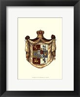 Framed Regal Crest I