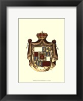 Framed Regal Crest II