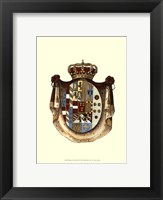 Framed Regal Crest III
