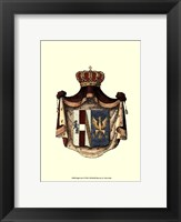 Framed Regal Crest IV