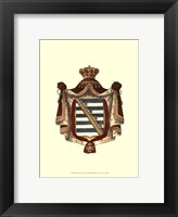Framed Regal Crest V