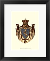 Framed Regal Crest VI
