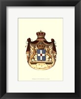 Framed Regal Crest VII