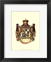 Framed Regal Crest VIII
