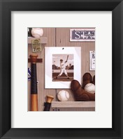 Framed Baseball 36