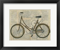 Tour by Bicycle II Framed Print