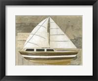 Tour by Boat I Framed Print