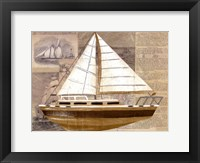 Tour by Boat II Framed Print