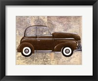 Tour by Car I Framed Print