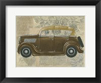 Tour by Car II Framed Print