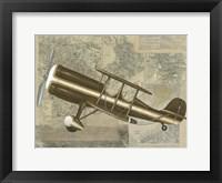 Tour by Plane I Framed Print