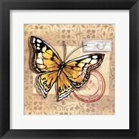 Le Papillon IV Framed Print