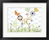 Butterflies on a Limb Framed Print