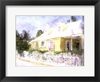 Framed Street Cottage I