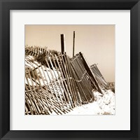 Framed Fences in the Sand I