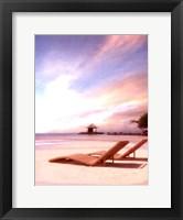 Framed Beside the Sea I