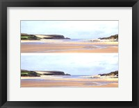 Framed 2-Up Sunlit Sands I