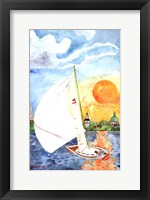 Framed Day Sail