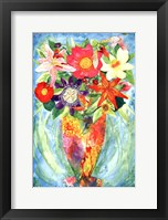 Framed Grandes Flower
