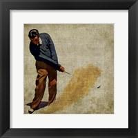 Vintage Sports I Framed Print