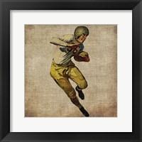Vintage Sports III Framed Print