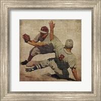 Framed Vintage Sports VII