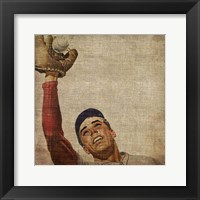 Vintage Sports VIII Framed Print