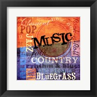 Music Notes XI Framed Print