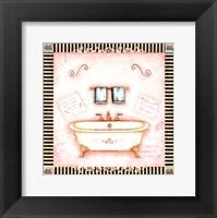 Pampered Bath I Framed Print