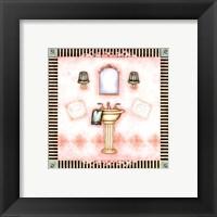 Framed Pampered Bath II