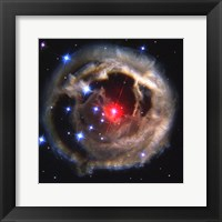 Framed Light Echo Around V838 Monocerotis
