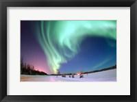 Framed Aurora Borealis