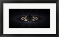Framed Saturn Eclipse