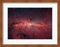 Framed Milky Way Galaxy