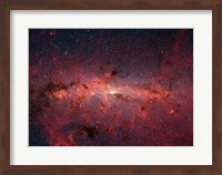 Framed Milky Way Galaxy