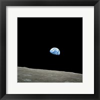 Earthrise Framed Print