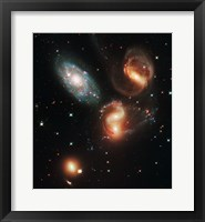 Galactic Wreckage Framed Print