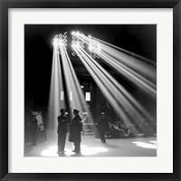Framed Chicago Union Station 1943