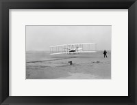 Framed First Successful Flight of the Wright Flyer