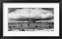 Framed Atom Bomb, Bikini Atoll