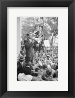 Framed Robert F. Kennedy Core Rally Speech