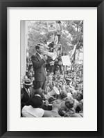 Framed Robert F. Kennedy Core Rally Speech