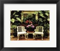 Framed opulent garden III