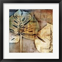 Framed gold leaves II