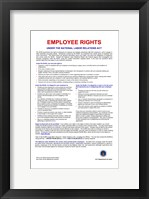Employee Rights Framed Print