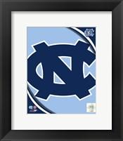 Framed University of North Carolina Tar Heels Team Logo