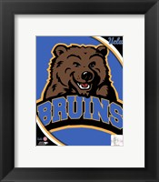 Framed UCLA Bruins Team Logo