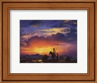 Framed Western Landscape