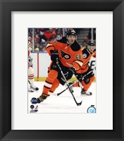 Framed Jaromir Jagr 2012 NHL Winter Classic Action