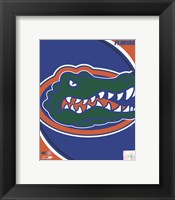 Framed University of Florida Gators Team Logo